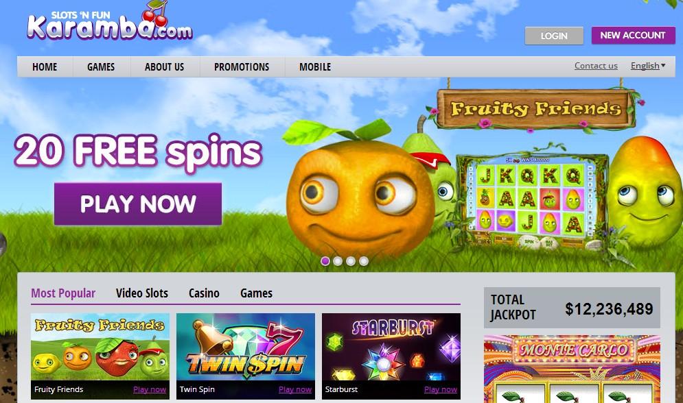 karamba online casino gaming seite